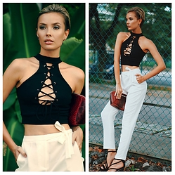 Katya Shay - Missguided Crop Top - Sexy style