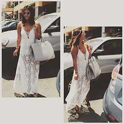 Carla M. Cabrera Aguayo - Coco Jolie, Hym Bag, Forever 21 Sunglasses, Jeffrey Campbell Shoes Jefrey Campell - Coachella