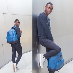 Willie Sparks - Coach Denim Backpack - Coach Collaboration