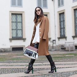 Tamara Kalinic - Fendi, Pinko, Tod's, Fendi - How to wear 1 blazer for 3 different occasions