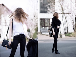 Fanni ♥ - Asos Top, New Look Jeans, New Look Bag, Asos Jacket, Forever 21 Boots - Nope