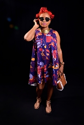 Keisha Campbnell - H&M Dress, Free People Shoe, Banana Republic Bag -  I am Aries