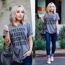 Hayley Larue -  - Stressed, Blessed, & Coffee Obsessed