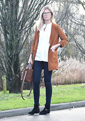 Valerie Brems - Isabel Marant Boots - Say it with suede