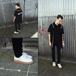 Mateusz K. - Puma Creepers, River Island Tunic, Zara Turtleneck, H&M Pants - The creepers