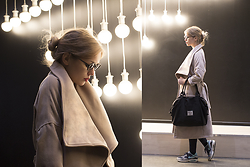 Anya Rise - Zaful Coat, Herschel Bag, Nike Boots - CALM