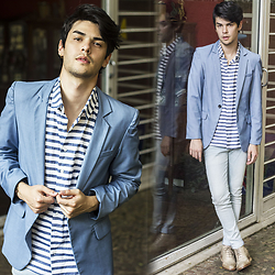 Vini Uehara - Guidomaggi Los Angeles, Guidomaggi Los Angeles - BLUE SUIT