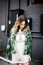 Anna Schowe - Asos Jacket, Asos Dress - Power To The Peaceful