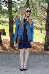 Stacey Belko - Forever 21 Jean Jacket, Rebecca Minkoff Purse, Tobi Dress - Shop tobi #1.