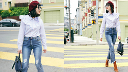 Amy Roiland - Storets Top - Street Style in SF