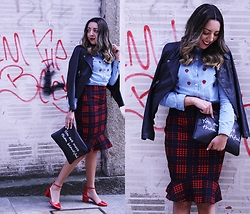 Cá Cavalcant - Shirt, Skirt, Shoes, Jacket - You are more...