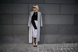 Lisa Rvd - Marc Cain, Rick Owens, Comma - Striped Culotte | lisarvd.com
