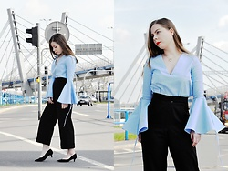 Martyna R -  - Bell sleeves- handmade blouse