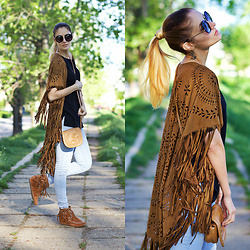 Ruxandra Ioana - Choies Cape - Coachella inspired