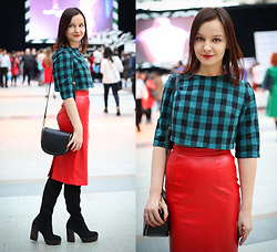 Julia Fetisova -  - Outfit 1. Moscow Fashion Week