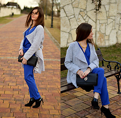Fashionelja Ja -  - ROYAL BLUE JUMPSUIT