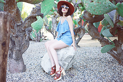 Amy Roiland - 6shoreroad Romper - Cactus Club //