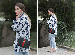 Hristina Micevska - Paul & Joe Shirt, Gucci Shoulder Bag, Paul & Joe Shirt - WEEKEND ATTIRE
