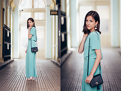 Tesa J. - H&M Dress, H&M Bag - Mint green