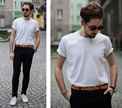 Daro K. - Giant Vintage Sunglasses, Adidas Shoes, Lesara Watch - Got It