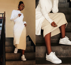 Remi Afolabi - Missguided Long Top, Asos Knitted Skirt, Nike Cortez Ultra Trainers - Cortez