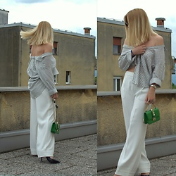 The Blonde Bliss - Valentino Bag, Details On - Shirt trend is ON