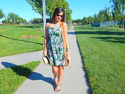 SFDesiGirl Talks -  - My Summer Shirt Dress!