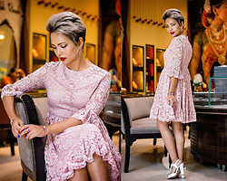 Nilu Yuleena Thapa - Chic Wish Chicwish Lace Dress - Niloufer