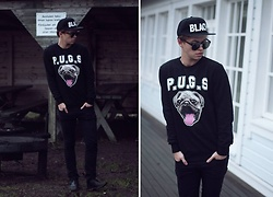 Andrey Koshelev - H&M Sweater, Cheap Monday Eyewear - True friends.