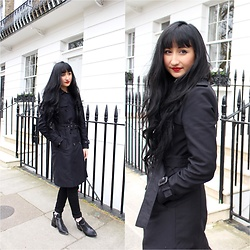 Rachel Oliver - Zara Trench, Topshop Jeans - Classic Trench