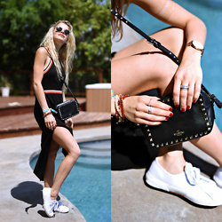 Caro Daur - Valentino Bag, Superga Shoes, Edited Dress - Pooltime