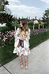 Hristina Micevska - Miss Selfridge Dress, Asos Gladiator Shoes, Chloé Bah - IN FULL BLOOM