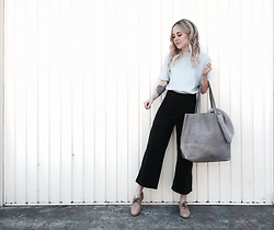 Mary Ellen Skye - Loup Nyc Pants, Han Starnes Top, Live Fashionable Bag - Loup