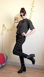 Marguerite Jam - Bershka Glasses, Romwe Pants, Bershka Shoes - Young and Angry