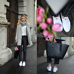 Jessica N. - Adidas Sneaker Super Slip Ons, Deichmann Bag, Mangun Pants, Opus Shirt, Zara Coat - Check this out
