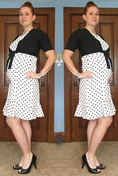 Erin Solberg -  - Maternity - Polka Dot Dress