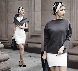 Margo Bryksina - Fme Sweatshirt, Asos Dress - Warm Springs