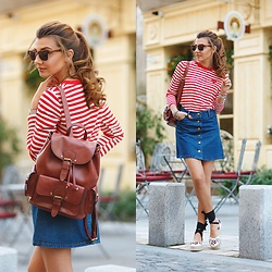 Larisa Costea - Romwe Blouse - '90 kinda girl