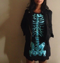 Dea Valkyr - H&M Skeleton Dress - Lady skeleton