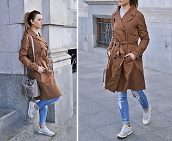 Angelika Rachocka -  - Brown Trench Coat