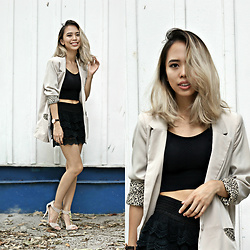 Janine Ramos - More About This Outfit And Brands At: - Old friend in Oversized blazers