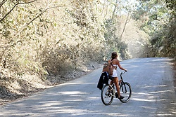 Whitney Valverde -  - Biking in Santa Teresa