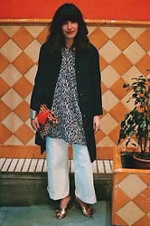 Alexandra Romero - Aa.Thelabel Tunic, Topshop Jacket, Zara Trousers, Chic And Cool Atelier Clutch, Zara Heels - Sunday