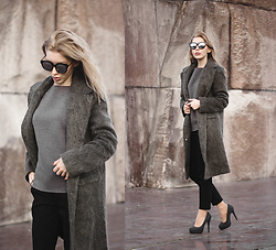 Margo Bryksina - Asos Coat, Follow My Eyes Top, Asos Trousers - G e n e r i q u e