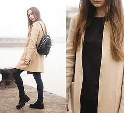 Dariia - Zara Coat, Follow My Eyes Top - F I R E W O R K