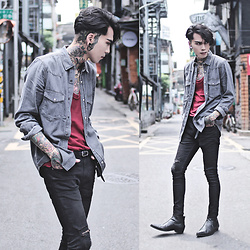 IVAN Chang - Topman Shirt, Topman Superskinnyjeans, Asos Boots - 052616 TODAY STYLE