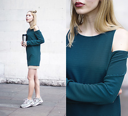 Margo Bryksina - Follow My Eyes Open Shoulder Top, Nike Sneakers - Wake Up Call