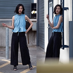 Claire Liu -  - HIGH WAIST PANTS