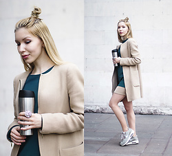 Margo Bryksina - Follow My Eyes Top, Zara Coat - Easy Lover