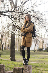 Dariia - Asos Coat, Fme Fleece Top, Zara Jeans - Someday Soon